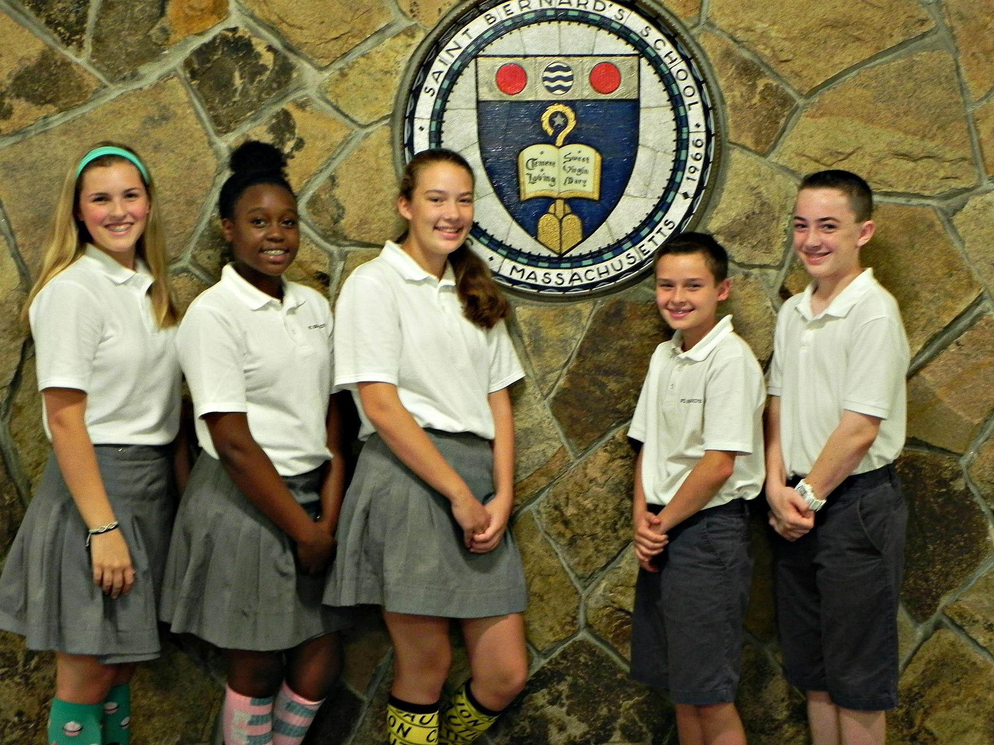 Grade 8 Class Officers St Bernards Elementary School