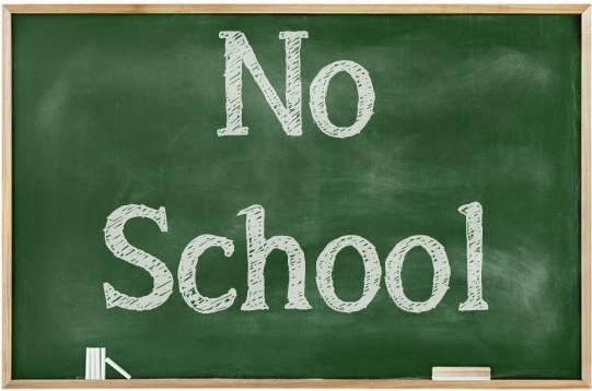 Image result for NO SCHOOL SIGN