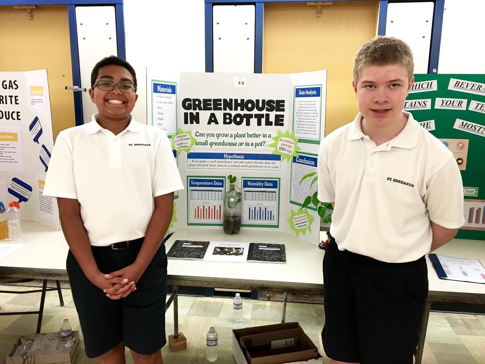 SCIENCE FAIR | St  Bernard's Elementary School
