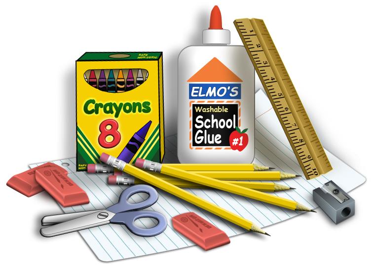 School Supply List by Grade