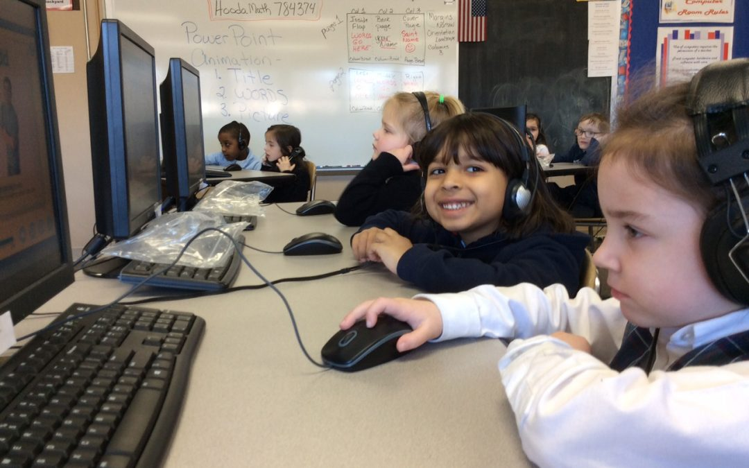 Kindergarten Learning in the Computer Room
